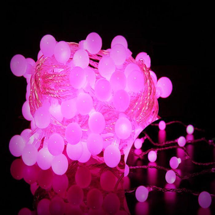 Festival Holiday luz 10 M 100led 110 V/220 V led luces de cadena bola guirnalda decoraciones para la fiesta al aire libre/jardín/home EE. UU. enchufe de LA UE(China (Mainland))
