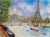 Paris: oleo sobre lienzo