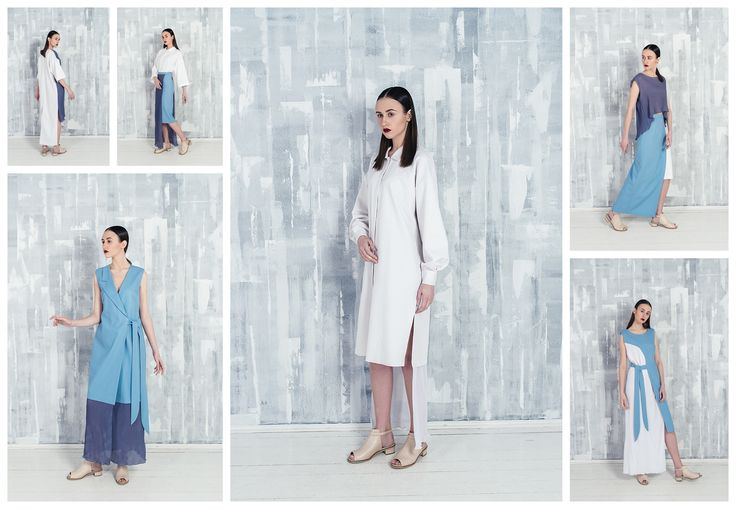 The basis of the spring-summer collection is functional dresses straight silhouette. Pure colors, a combination of dense and light fabrics, comfortable cut, asymmetric key features of the collection.  #российскиедизайнеры #женственность #платья #ss16 #streetfashion #femininity #russianfashion #springsummer #dress