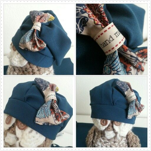 Cute beanie... and selfmade owl
