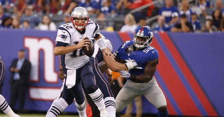 Brady plays 1st half vs. Giants in tuneup; Patriots lose 17-9