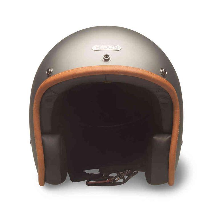 """HEDON Hedonist helmet """"Ash"""" open face."""