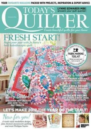 Today's Quilter №18 2017 скачать бесплатно