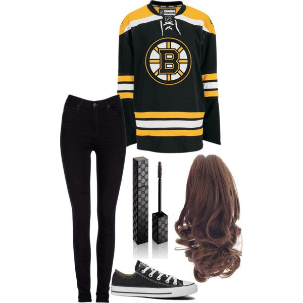Bruins Game Day Outfit