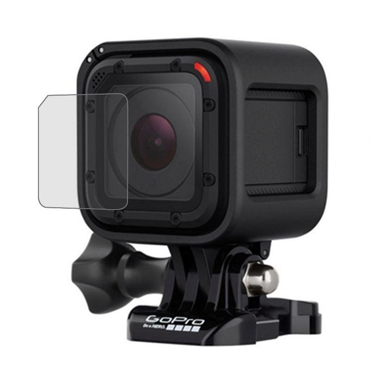 Ultra Clear Lens beschermings Film voor GoPro HERO4 Session Camera  Kenmerken 1. 100% hoge kwaliteit en gloednieuw 2. Superhelder belemmert de hoge definitie opnamen niet 3. Kras en smudge bestendig 4. Eenvoudig kleverige resten te verwijderen 5. Luchtbel en vuil vrij 6. Goede oppervlaktehardheid 7. Geschikt voor GoPro HERO4 Session Camera 8. Let op: De afgebeelde camera is niet inbegrepen  EUR 7.95  Meer informatie