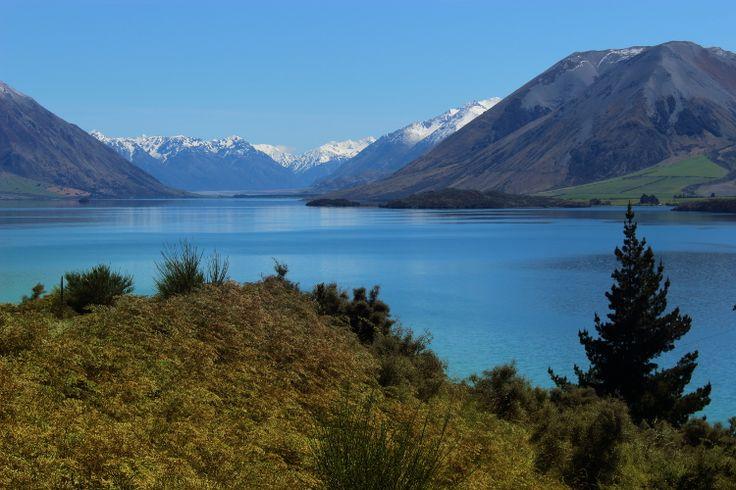 Lake Coleridge & scenic views everywhere...