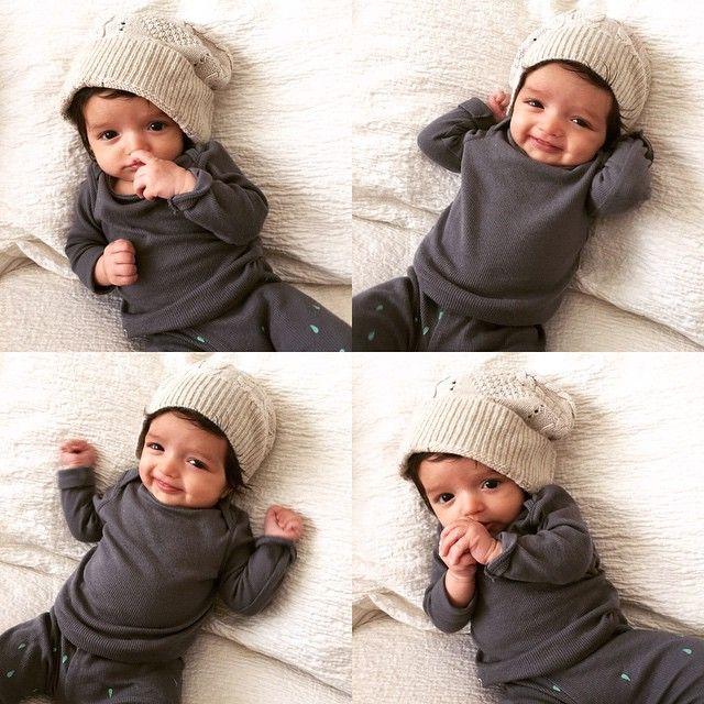 @babysamtani   #beanie #baby #winterfashion #babyfashion #babysamtani #kidsfashion #bondsau #bondsbaby @bondsaus