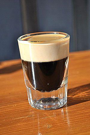 Black Cadillac: Patron XO floated with Irish Cream