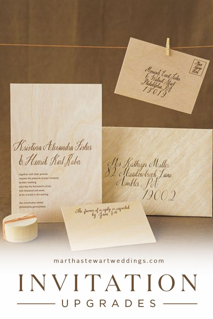 1000 images about wedding invitations on pinterest for Wedding invitation kits martha stewart