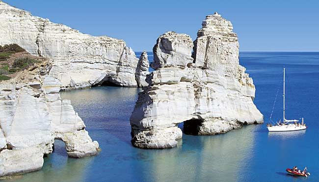 Kleftiko - Milos - Greece