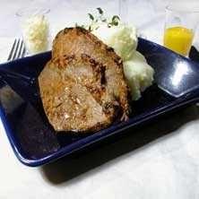 Klassisk lövbiff med pepparrot och äggula - Recept - Tasteline.com