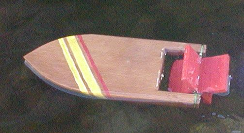 The RunnerDuck Toy Boat, step by step instructions