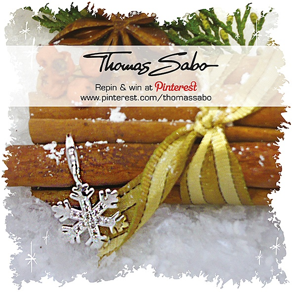 The lucky winner will be drawn and informed tomorrow on Nov 23rd 2012! Important: Your facebook or twitter account must be linked to your Pinterest profile! Terms and conditions: http://images.thomassabo.com/www/2/2012/11/TC-Pinterest-Xmas-Sweepstake.pdf