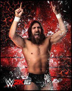 Daniel Bryan en WWE 2K16 - twitter.com/wwegames