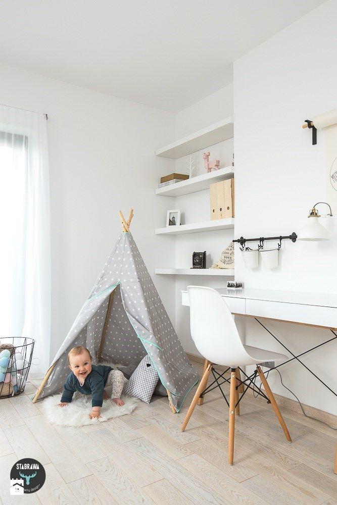 Pokój dziecka styl Skandynawski - zdjęcie od STABRAWA.PL - pozytywny design - Pokój dziecka - Styl Skandynawski - STABRAWA.PL - pozytywny design