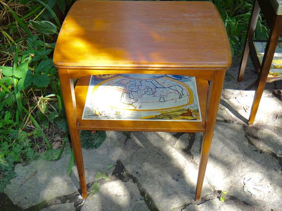 End Table MCM Mersman Table 67581 Man Cave Furniture Two