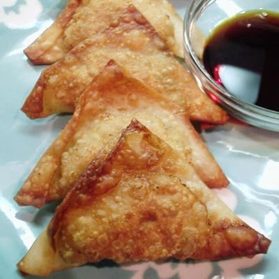 Chinese Wontons, I've been looking for a won ton cream cheese recipe and found this one.