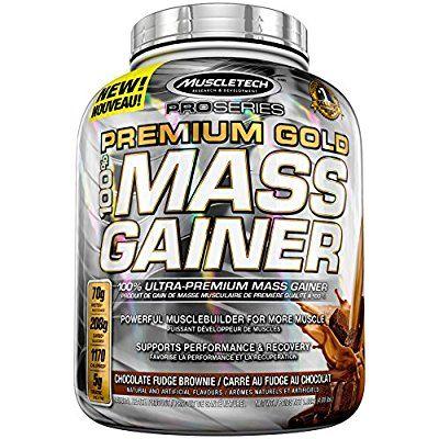 MuscleTech Pro Series Premium Gold Mass Gainer, Chocolate, 4 Pound: Amazon.ca: Health & Personal Care #massgainer