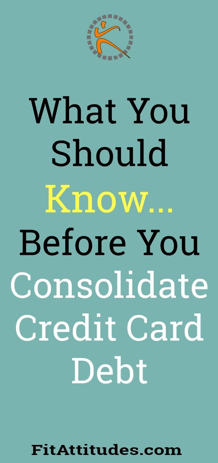 Credit Card Debt Consolidation Tips #CreditCardTips