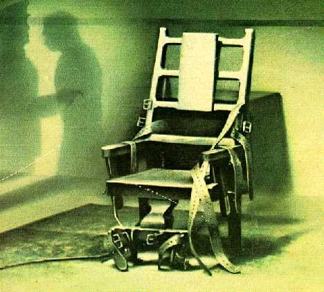 This look at execution by electrocution focuses on Old Sparky – the electric chair used exclusively by the United States and its dependencies since 1890.