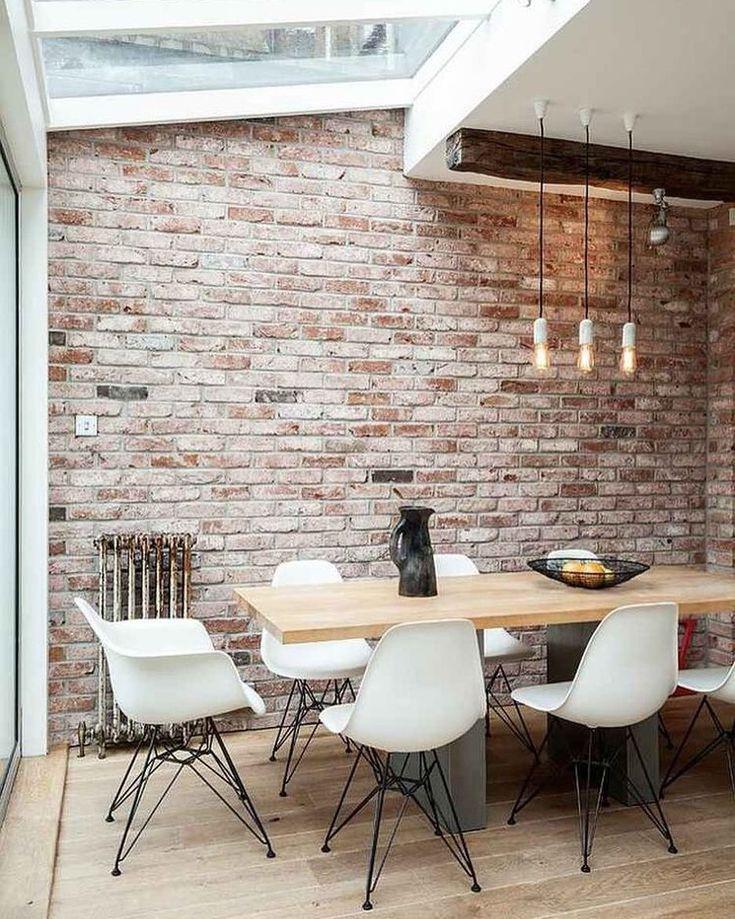 Rustic modern? Old bricks look chic in any design style! http://www.VintageBricks.com