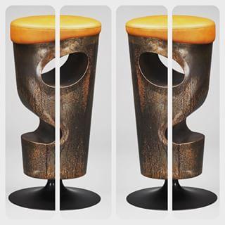Moai stool by Vittorio Hodara  #moai #stool #furniture #design #designer #art #interior #interiors #lifestyle #orange #shape #curve #colors #madeinitaly #news #vittoriohodara #architecture #archiproducts #touch #pop #decor #breradesigndistrict #milano #interiordesign #london #nyc #singapore