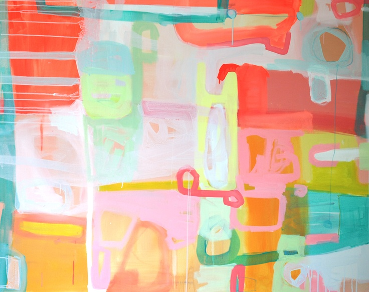 """Fleur, 48"""" by 60"""" gallery wrap, available October 26th: Artists Interpr, Irby Fine, Abstract Colors, Michelle Armas, Abstract Art, Artists Inspiration, Fine Art, Art Collection, Gregg Irby"""