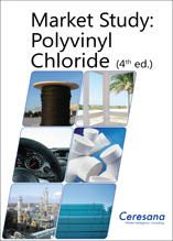 Despite controversial plasticizers, polyvinyl chloride (PVC) is one of the best-selling types of plastic. The market research institute Ceresana already publishes the fourth study on the world market for PVC.  www.ceresana.com/en/market-studies/plastics/polyvinyl-chloride/