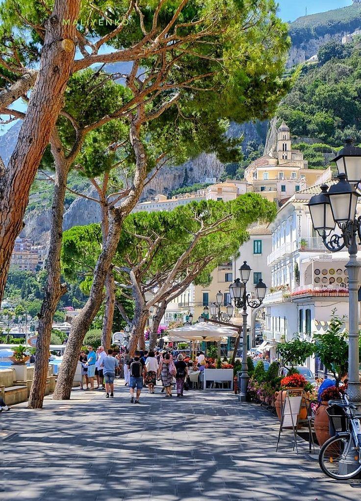Amalfi | City views | Streets of Italy | Summer holiday | Travel inspo | Amalfi …