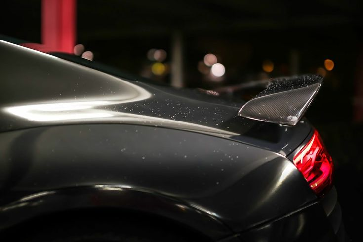 The R8 GT Wing, this fixed carbon-fiber spoiler comes complete with the carbon fiber base-plate and hardware need for installation.
