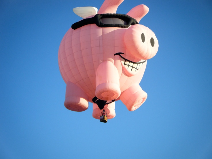 31 best Piggy Balloon / Inflatable / Lantern images on ...