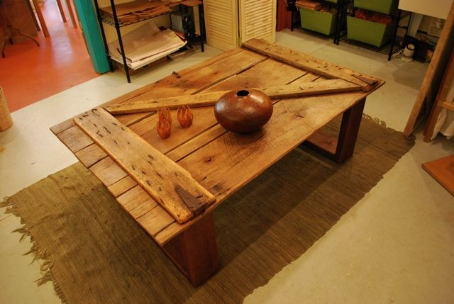 Image Detail For Contemporary Rustic Barn Door Coffee Table For The Home Pinterest The O