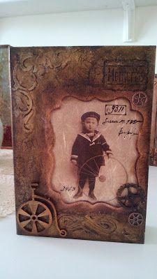 something to create: Vintage book