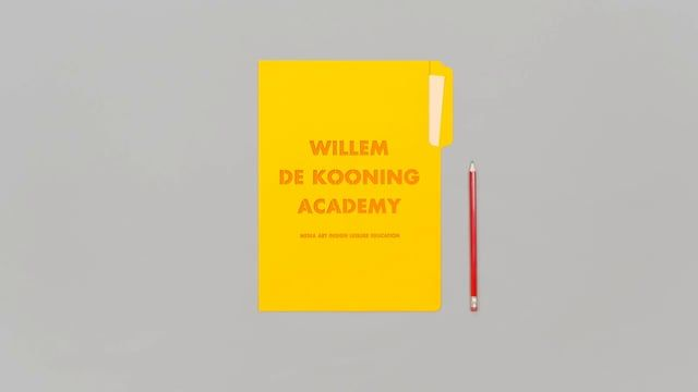 In addition to the main film we created for the Willem de Kooning Academy, found here: https://vimeo.com/106150159, we created a film for Teaching Fine Arts & Design.  The film is a first lesson for all students that want to become an art teacher. It prepares them not only for this education but also what it's going to be like when standing in front of a classroom.