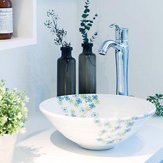 アイエム 磁器製洗面ボウル リュッカ フォーゲル セッティング例