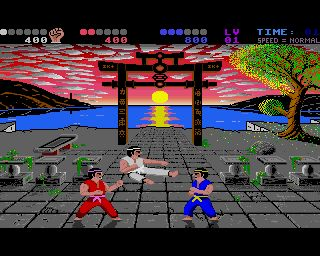 International Karate + (Atari ST)