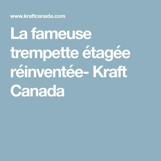 La fameuse trempette étagée réinventée- Kraft Canada