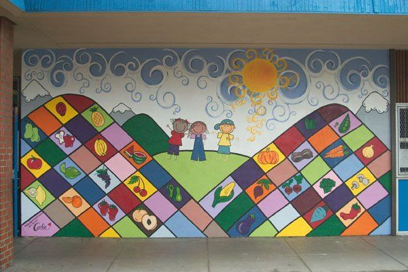 96 best images about murals for school on pinterest for Elementary school mural ideas
