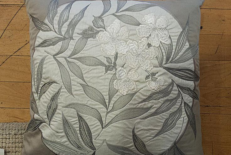 Embroidered florals by Laura Ashley