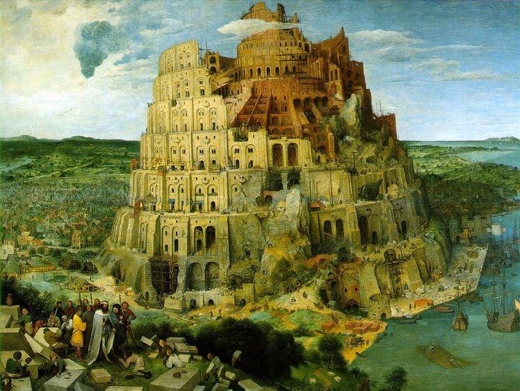 Питер Старший БрейгельВавилонская башня  [1563]