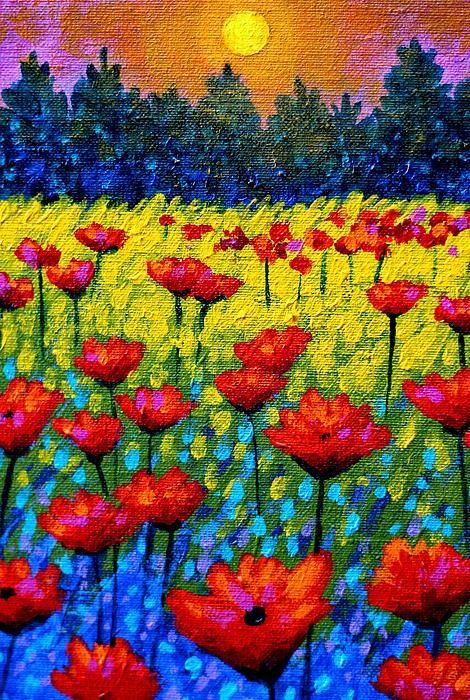 John Nolan-約翰 · 諾蘭-愛爾蘭藝術家, 充滿活力的顏色, 別具風格的畫作(第一輯)。。。 - Milk平平.淡淡.也是真  - ☆☆milk 平平。淡淡。也是真 ☆☆