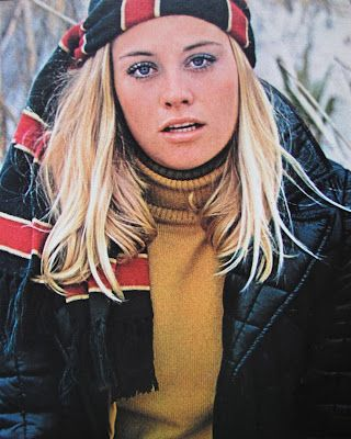 Cybill Shepherd 1969 - Clothing ad
