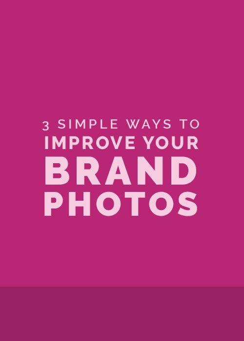 Ellechat Recap: 3 Simple Ways to Improve Your Brand Photos with Brit Chandler