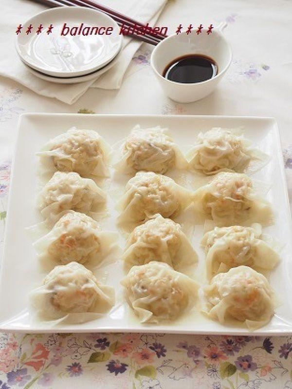 レンジで!手間なし。ふわふわ豆腐しゅうまい by 河埜 玲子 | レシピサイト「Nadia | ナディア」プロの料理を無料で検索