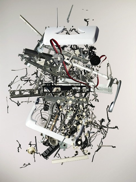 In his latest series UK-based photographer Todd McLellan takes old technology