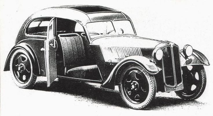 Framo Rebel - Design study of the Rebell. As with other Framo vehicles (and contemporary DKWs) the bodywork was plywood covered with leatherette for weather protection. The seats were cloth on metal frame.