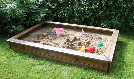 Så bygger du en egen sandlåda