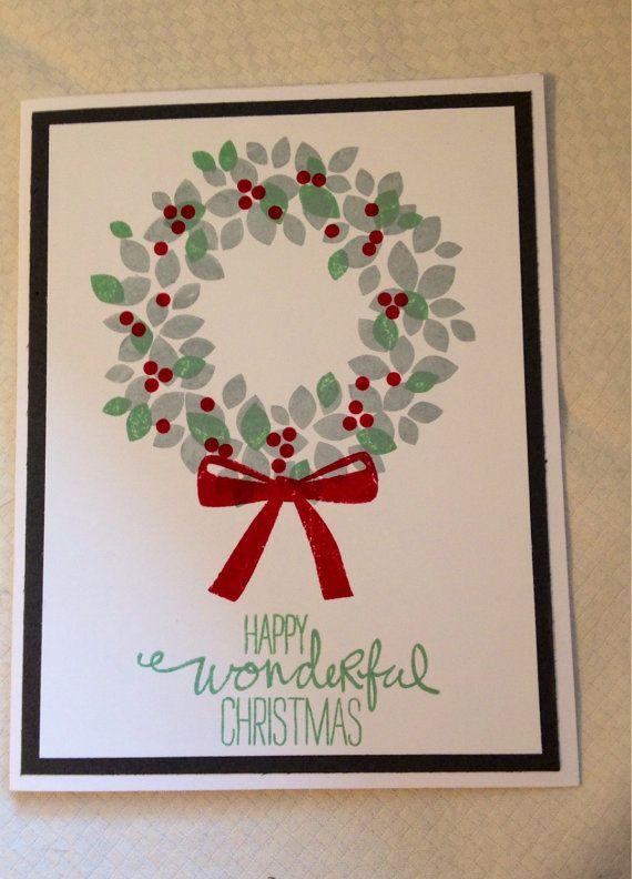 Christmas card by PinchofCreativity on Etsy