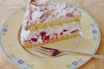 Himmelkuchen mit Himbeeren   – Bake & Cake