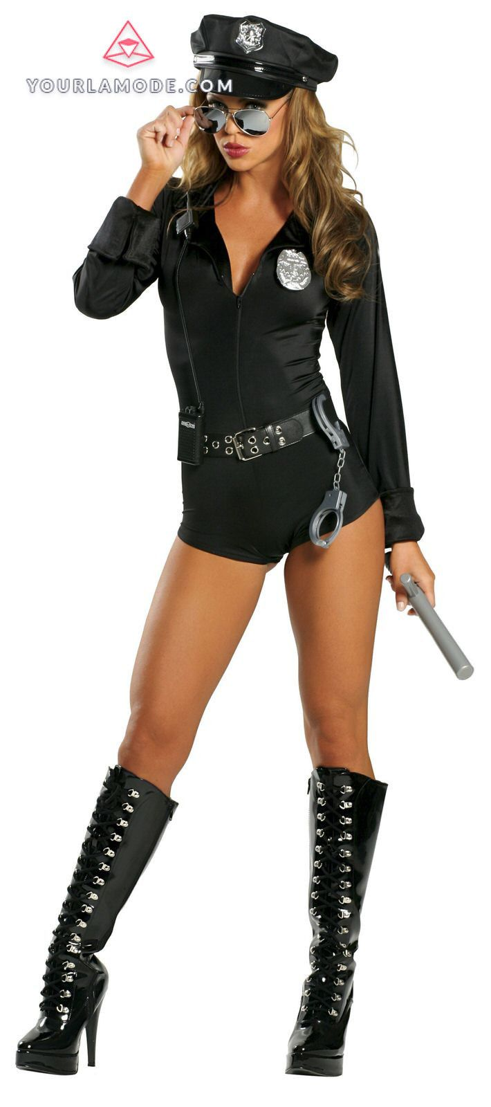 Lady Law Police Costume